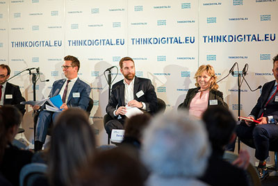 Panel at ThinkDigital Summit 2018